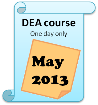 OR Society DEA Course  One day training
