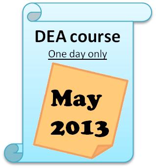 ORS DEA course in 2013