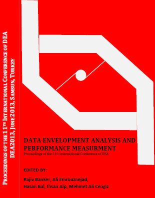 Proceedings of the DEA2013 Conference … Edited By R. Banker, A. Emrouznejad, H. Bal, I. Alp, M. A. Gengiz