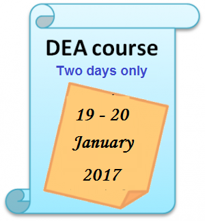 OR Society DEA Course – One day training