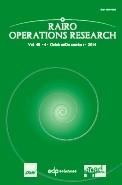 RAIRO - Operations Research